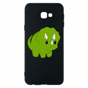 Etui na Samsung J4 Plus 2018 Little dinosaur with horns