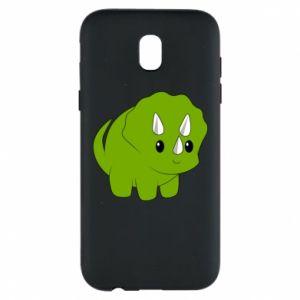 Etui na Samsung J5 2017 Little dinosaur with horns