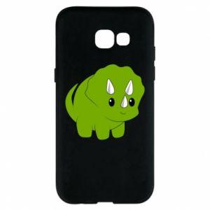 Etui na Samsung A5 2017 Little dinosaur with horns