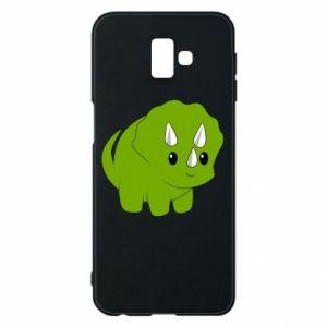 Etui na Samsung J6 Plus 2018 Little dinosaur with horns
