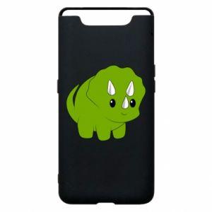 Etui na Samsung A80 Little dinosaur with horns