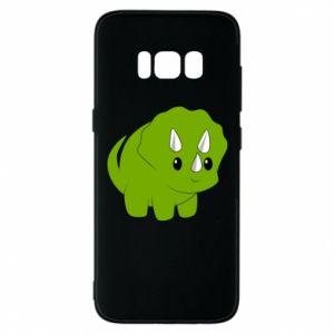 Etui na Samsung S8 Little dinosaur with horns