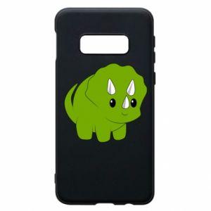 Etui na Samsung S10e Little dinosaur with horns