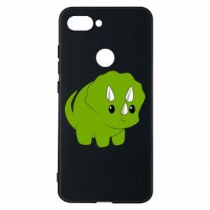Etui na Xiaomi Mi8 Lite Little dinosaur with horns
