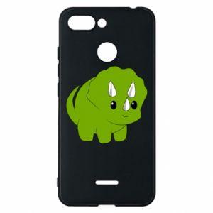Etui na Xiaomi Redmi 6 Little dinosaur with horns