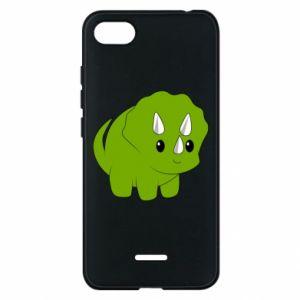 Etui na Xiaomi Redmi 6A Little dinosaur with horns