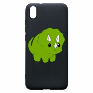 Etui na Xiaomi Redmi 7A Little dinosaur with horns