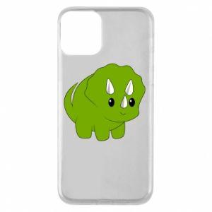 Etui na iPhone 11 Little dinosaur with horns