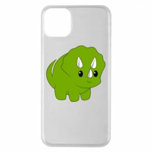 Etui na iPhone 11 Pro Max Little dinosaur with horns