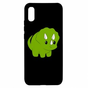 Etui na Xiaomi Redmi 9a Little dinosaur with horns