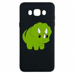 Etui na Samsung J7 2016 Little dinosaur with horns