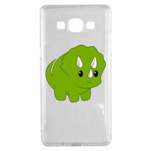 Etui na Samsung A5 2015 Little dinosaur with horns