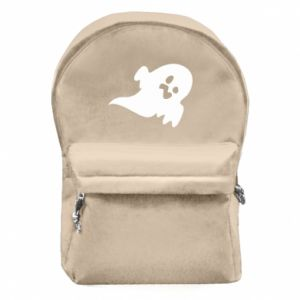 Backpack with front pocket Little ghost - PrintSalon