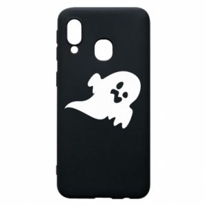 Phone case for Samsung A40 Little ghost - PrintSalon