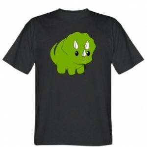 T-shirt Little dinosaur with horns