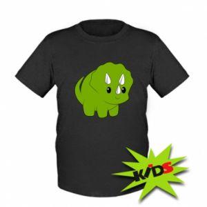 Kids T-shirt Little dinosaur with horns