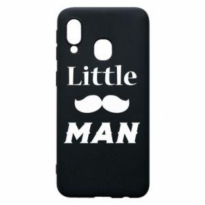 Samsung A40 Case Little man