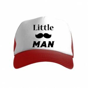 Kid's Trucker Hat Little man