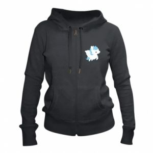 Women's zip up hoodies Little pegasus - PrintSalon