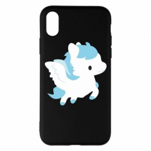 Phone case for iPhone X/Xs Little pegasus - PrintSalon