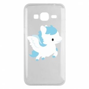 Phone case for Samsung J3 2016 Little pegasus - PrintSalon