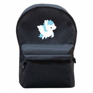 Backpack with front pocket Little pegasus - PrintSalon