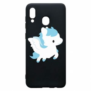 Phone case for Samsung A30 Little pegasus - PrintSalon