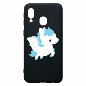 Phone case for Samsung A40 Little pegasus - PrintSalon