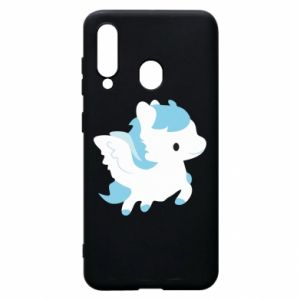 Phone case for Samsung A60 Little pegasus - PrintSalon