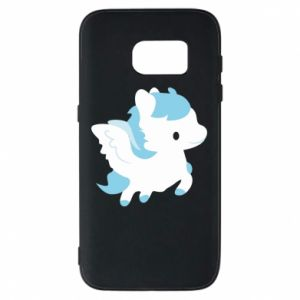 Phone case for Samsung S7 Little pegasus - PrintSalon