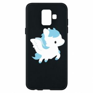 Phone case for Samsung A6 2018 Little pegasus - PrintSalon