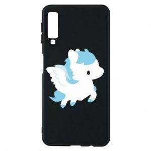 Phone case for Samsung A7 2018 Little pegasus - PrintSalon