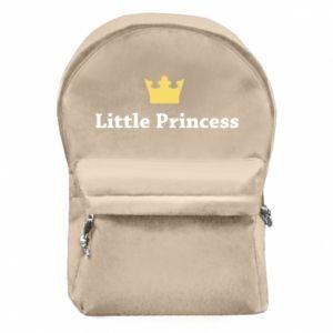 Plecak z przednią kieszenią Little princess