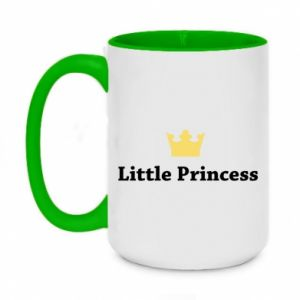 Two-toned mug 450ml Little princess