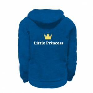 Kid's zipped hoodie % print% Little princess