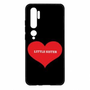 Etui na Xiaomi Mi Note 10 Little sister, napis w sercu