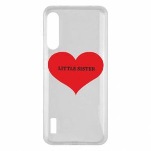 Etui na Xiaomi Mi A3 Little sister, napis w sercu