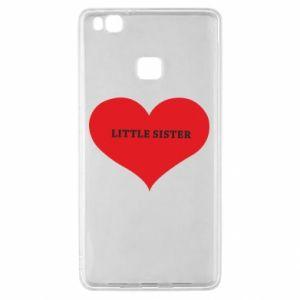 Etui na Huawei P9 Lite Little sister, napis w sercu