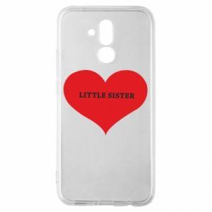 Etui na Huawei Mate 20 Lite Little sister, napis w sercu