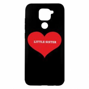 Etui na Xiaomi Redmi Note 9/Redmi 10X Little sister, napis w sercu