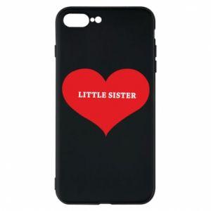 Etui do iPhone 7 Plus Little sister, napis w sercu