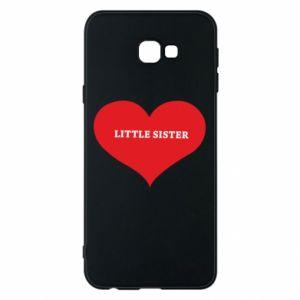 Etui na Samsung J4 Plus 2018 Little sister, napis w sercu