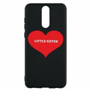 Etui na Huawei Mate 10 Lite Little sister, napis w sercu