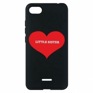 Etui na Xiaomi Redmi 6A Little sister, napis w sercu