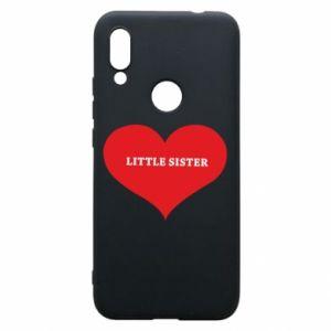 Etui na Xiaomi Redmi 7 Little sister, napis w sercu