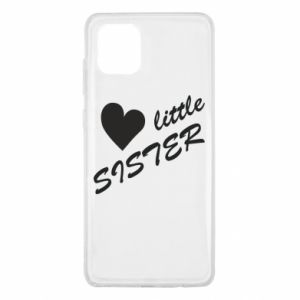 Etui na Samsung Note 10 Lite Little sister