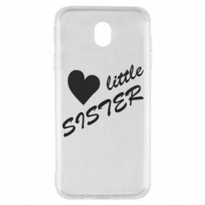 Etui na Samsung J7 2017 Little sister