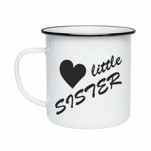 Enameled mug Little sister