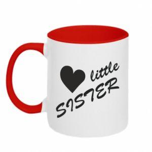 Kubek dwukolorowy Little sister