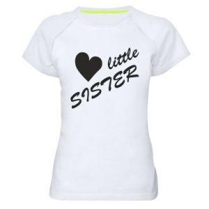 Women's sports t-shirt Little sister